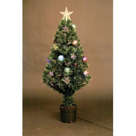 led fibre optic tree pre lit tree 2ft 3ft