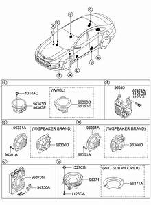 2011 Hyundai Sonata Speaker