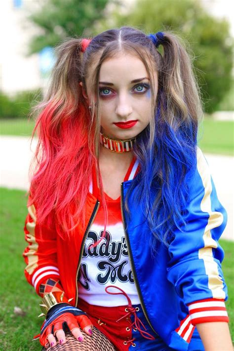 harley quinn pigtails cute girls hairstyles cute girls