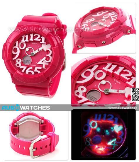 Casio Baby G Bga 130 Black buy casio baby g black neon illuminator alarm bga