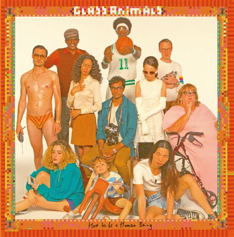 glass animals dave bayley   bands  album artwork