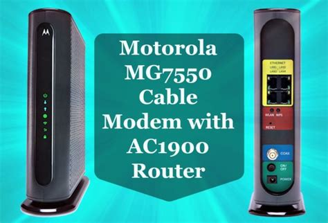 0 Annual Savings On Cable Bill-motorola Mg7550 Cable