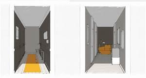 effet d39optique couloir cuisine pinterest couloir With couleur peinture couloir entree 7 notre maison en provence amenagement et decoration