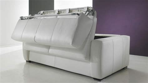 canapé lit rapido pas cher canapé lit rapido en cuir de vachette pas cher