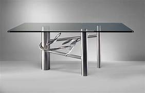 Modern Stainless Steel Dining Room Tables by 20 Sleek Stainless Steel Dining Tables
