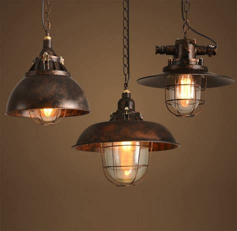 Vintage Dining Room Light Fixture by Loft Style Antique Iron Droplight Edison Pendant Light