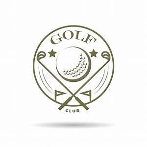 Vector Flat Golf Logo Design. Stock Vector - Image: 67516982