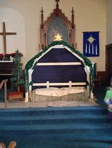NATIVITY BACKDROPS & STAGE SET Creating a self standing