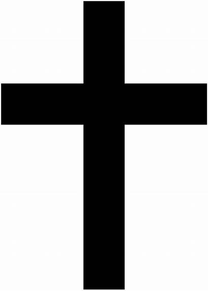 Croce Cristiana Wikipedia Christian Commons Cross Svg