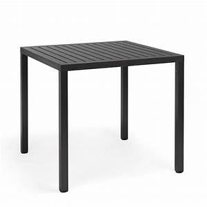 Table Metal Exterieur : cube pour bars et restaurants table en m tal plateau ~ Teatrodelosmanantiales.com Idées de Décoration