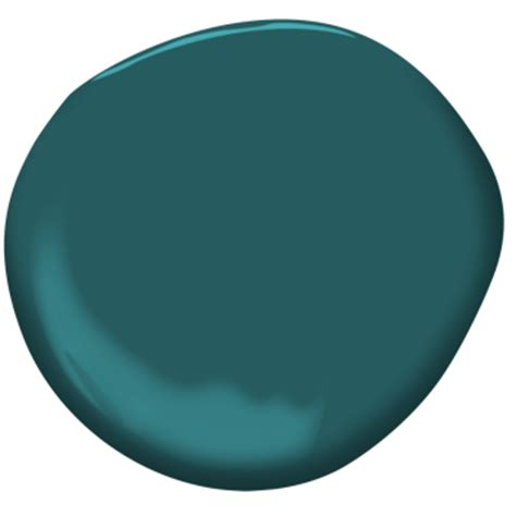 what color is juniper teal 2053 20 benjamin