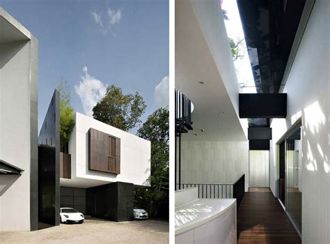 black white house  formwerkz architects