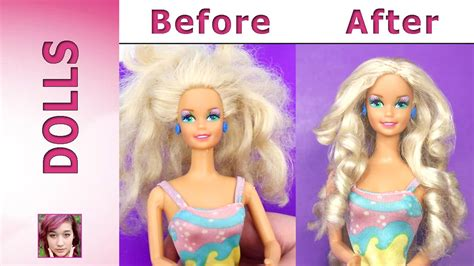 Barbie Hair Repair Tutorial