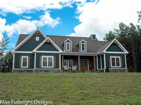 One Story Farmhouse Plans by One Or Two Story Craftsman House Plan House Plans