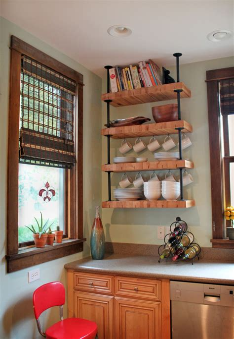 Dislike Mainstream Kitchen Shelving? These Tens Industrial