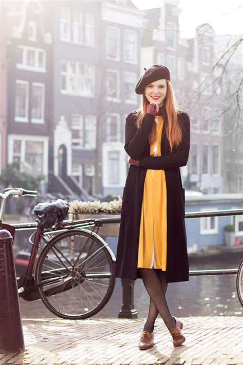 Vintage Outfit in the Cold - Retro Sonja Fashion Blogger
