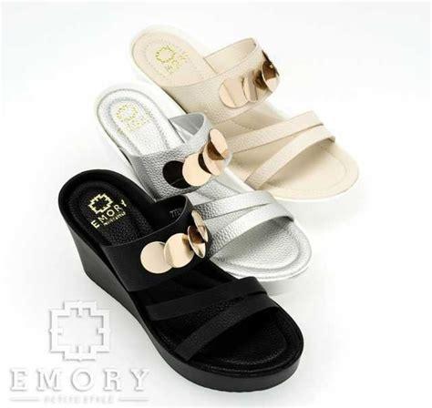 Sepatu Santai Ibu Muda sandal emory helena 77emo626 high heels sandals sepau