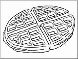 Waffle Clip Clipart Abcteach Bw Type Clipground sketch template
