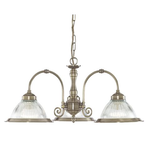 searchlight 9343 3 american diner 3 light antique brass