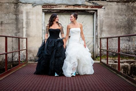 23 Dark Wedding Dresses For Brides Who Think White Is