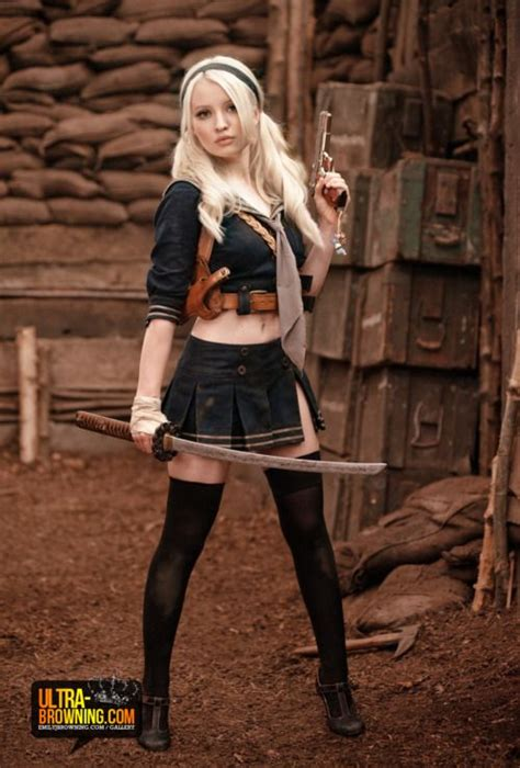 babydoll emily browning sucker punch celebrity