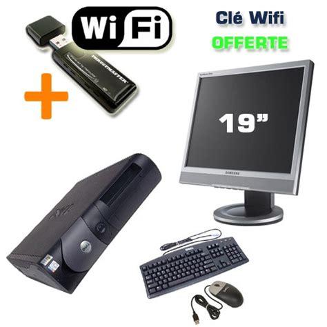 clé wifi pour pc de bureau dell optiplex gx270 ecran tft 19 quot wifi ordinateur