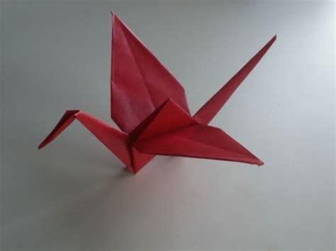 origami anleitung kranich youtube
