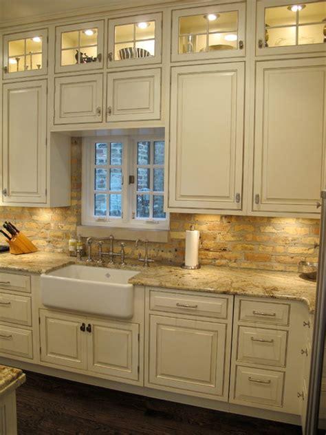 kitchen chicago backsplash brick traditional award winning kitchens cabinets dresner custom lincoln park bath mn houzz st