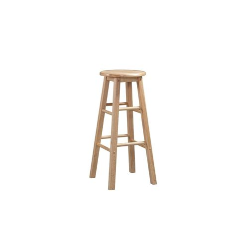 linon home decor  wood bar stool   modern