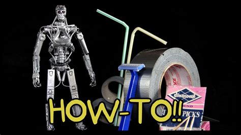 How To Make Your Own T800 Terminator Action Figure
