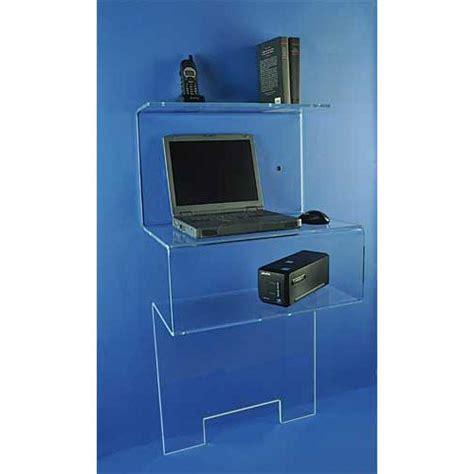 petit bureau verre mobilier form xl meubles plexi bureaux et tables plexi