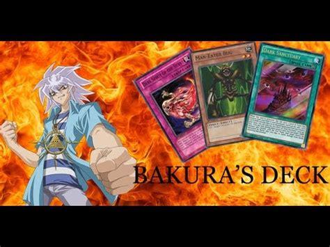 yu gi oh bakura s deck youtube