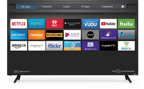 Vizio Smart Tv Apps Vizio