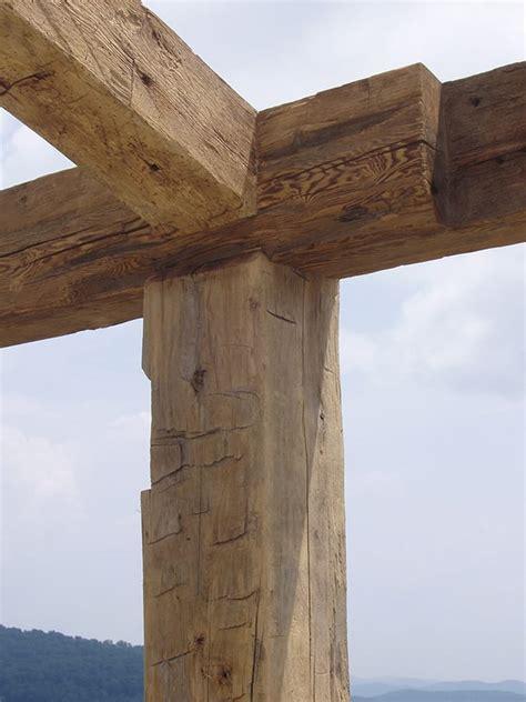post  beam framing reclaimed beam construction big