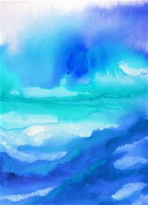 watercolor background colors  fading aquamarine py