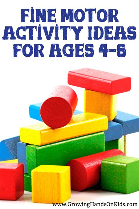motor activities for preschoolers for ages 4 6 548 | fine motor activity ideas ages 4 6 PIN