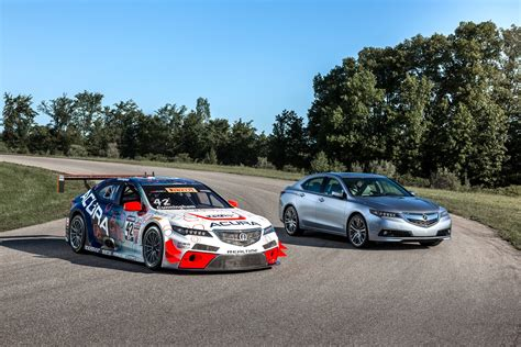 Acura Car : Lapping Gingerman Raceway In An Acura Tlx Gt Race Car