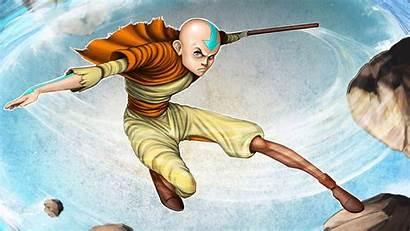 Airbender Avatar Last Cartoon Characters Loading