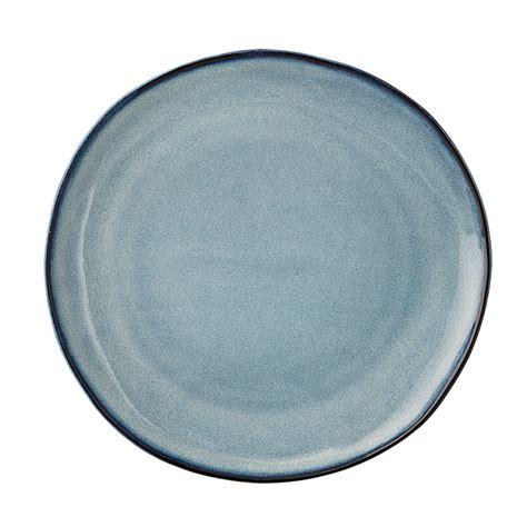 Porzellan Teller bloomingville porzellan teller sandrine blue 22cm