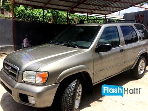 vendre voiture d occasion 2003 nissan pathfinder voiture d occasion a vendre en haiti