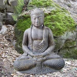 Skulpturen Für Garten : japanischer buddha f r den garten ~ Watch28wear.com Haus und Dekorationen