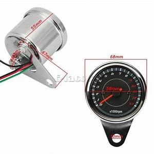 Speedometer Tachometer Fit For Harley Softail Heritage