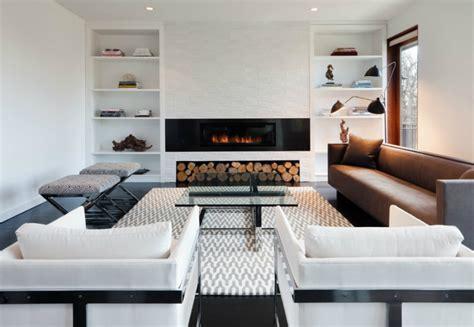 modern built ins   room  purpose