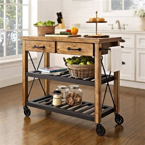 kitchen islands on wheels ikea can t find the diy for this but it doesn t look