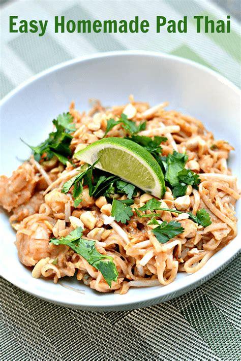 best pad thai recipe the best easy homemade pad thai recipe
