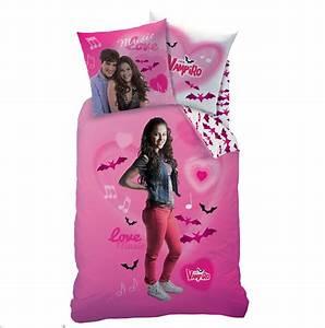 Chica vampiro love parure 140 x 200 plc ref for Stickers chambre enfant avec housse de couette 90 x 120