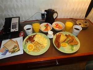 Room Service Breakfast - Picture of Viana Hotel & Spa ...