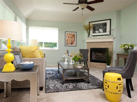 Mint Green Living Room Ideas by Mint Green Living Room With Yellow Accents Hgtv