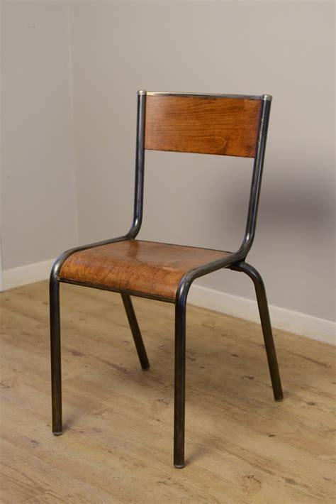 bureau ecolier vintage chaise mullca album photos indus home factory