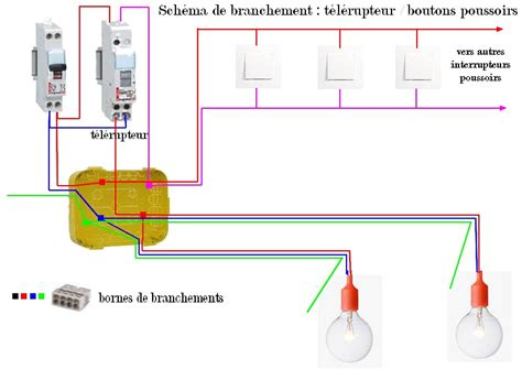 branchement d une le installation 233 lectrique le circuit lumi 232 re leboisd 233 liza